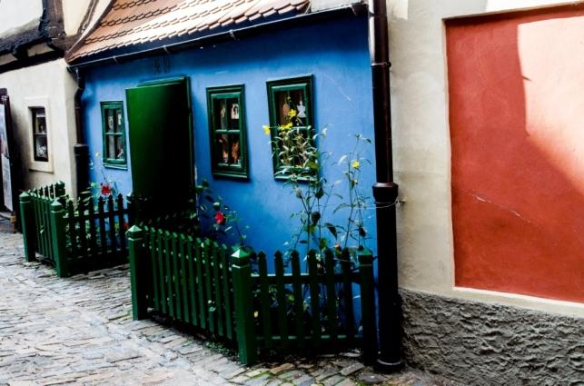 Casa de Kafka en el Callejon de oro