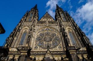 Catedral San Vito en el Castillo de Praga.