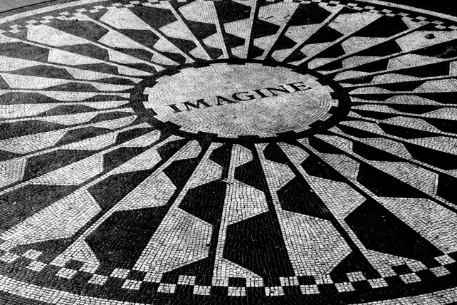 Mosaico en Strawberry fields (Central Park-NYC)