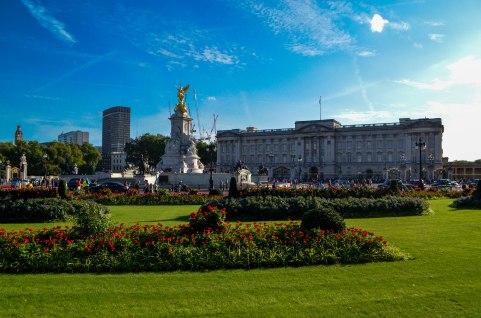 9 Londres Palacio de Buckingham
