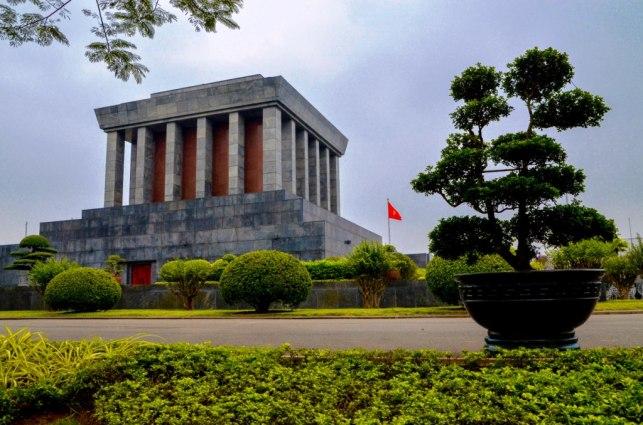1 Hanoi - Mausoleo de Ho Chi Minh
