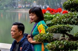 28 Hanoi - Lago Hoam Kien
