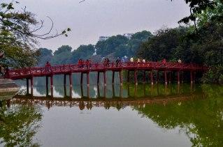30 Hanoi - Lago Hoam Kien