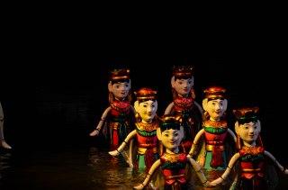 Teatro de marionetas de agua (Hanoi - Vietnam)