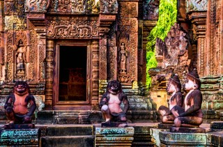81 Templo Banteay Srey