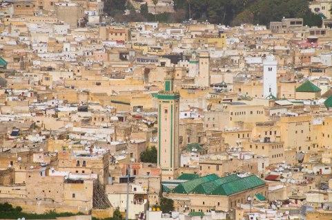 2.Minarete de la Mezquita de Kairaouine jpg