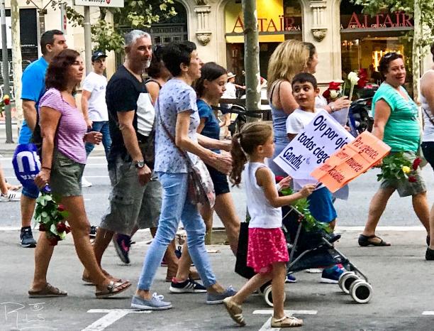 25 Manifestación por atentado